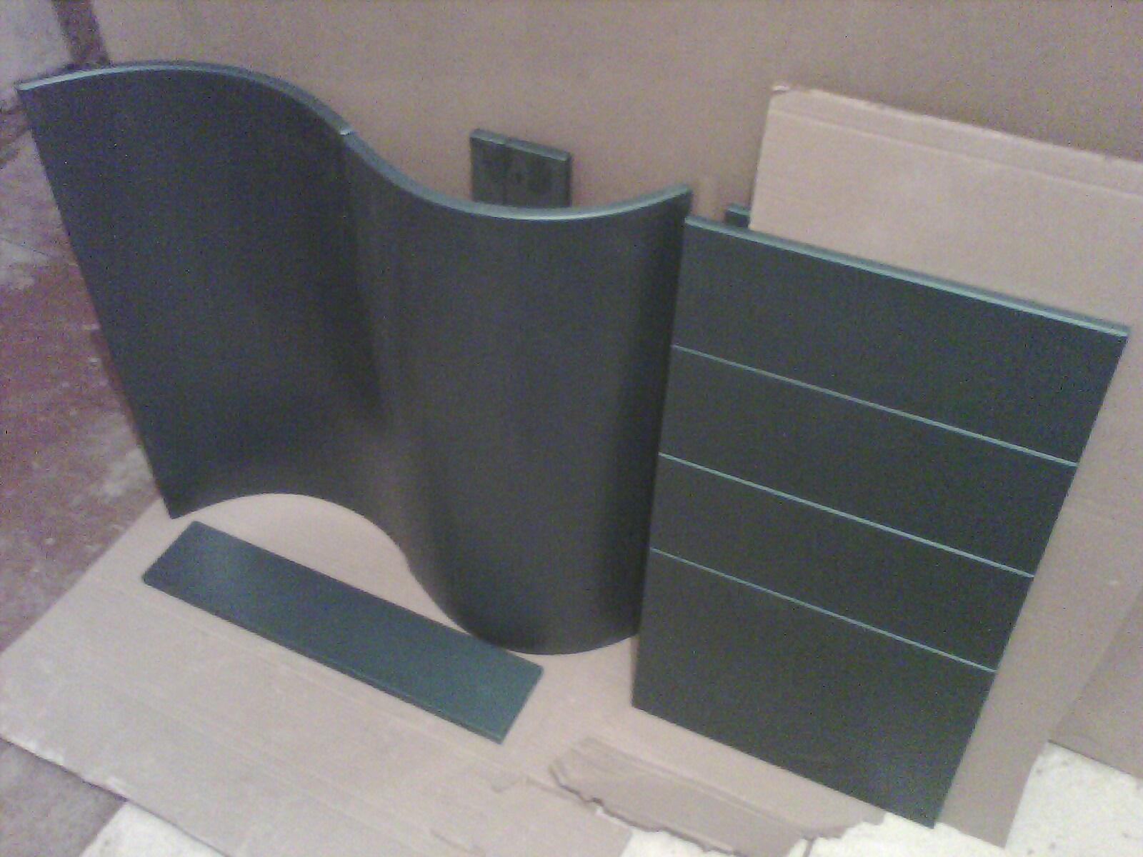 радиусные фасады изготовление покраска